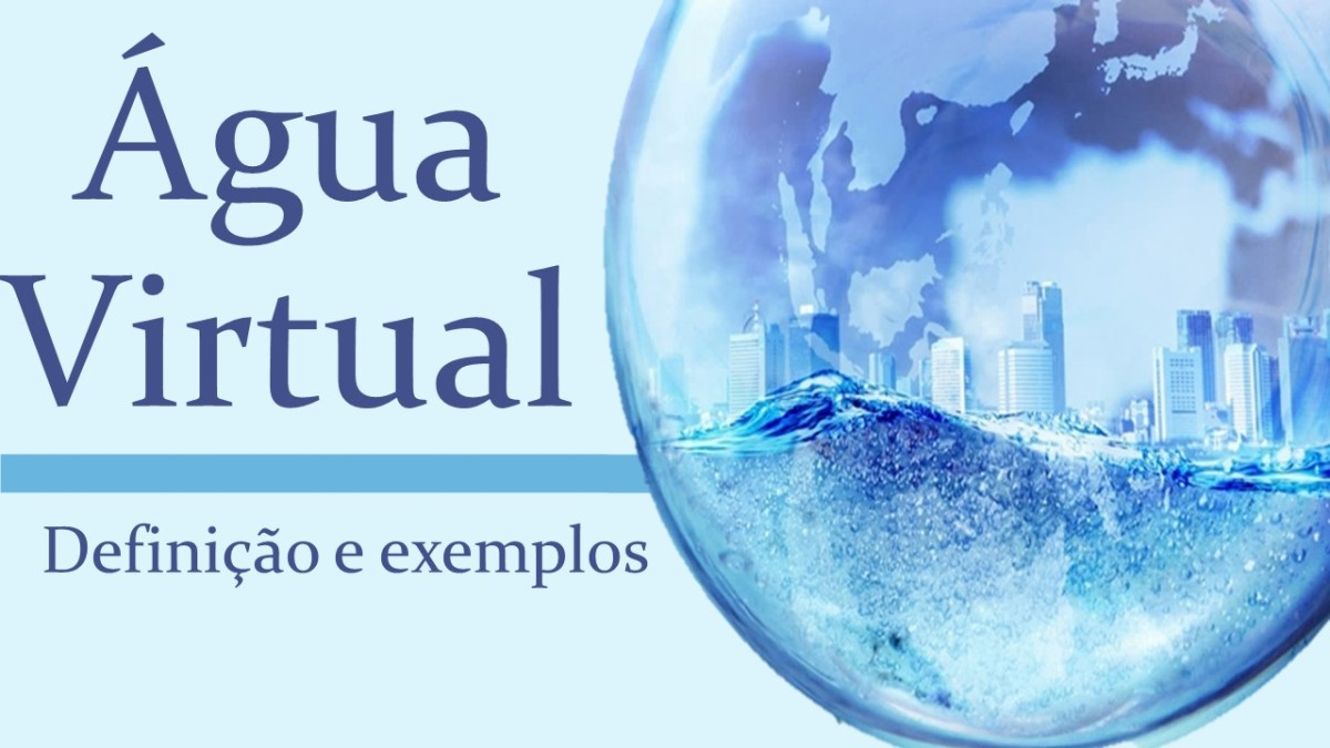 O que é Água Virtual