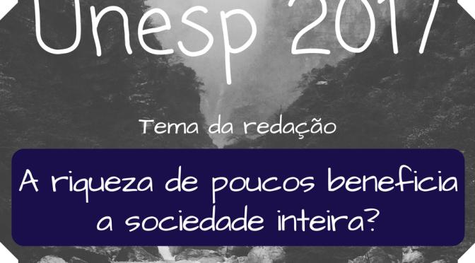 Unesp 2017 – segundo dia da segunda fase