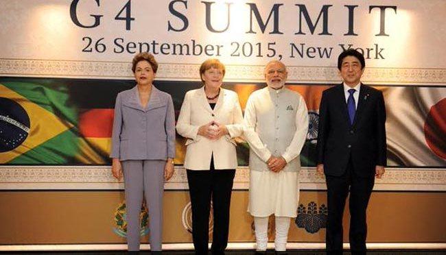 O G4 e a proposta de reforma no Conselho de Segurança