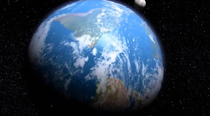 Movimento da Terra e a incidência desigual da luz solar