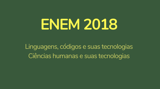Download prova 1º dia – Enem
