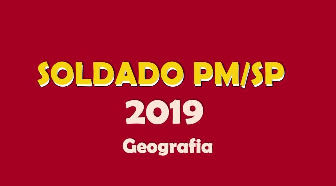 Soldado PM/SP 2019