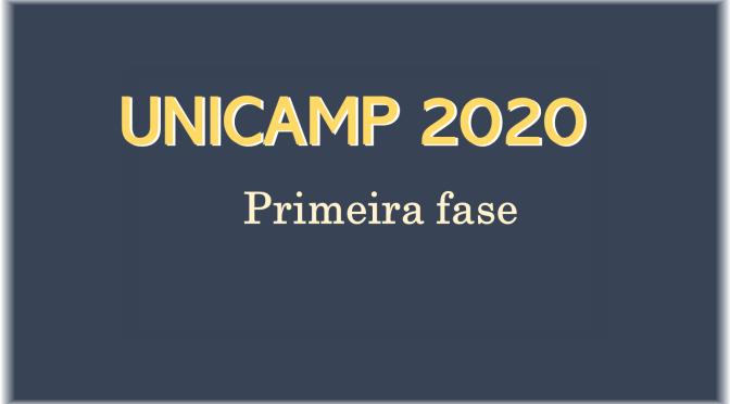 Unicamp 2020: questões de geografia na primeira fase