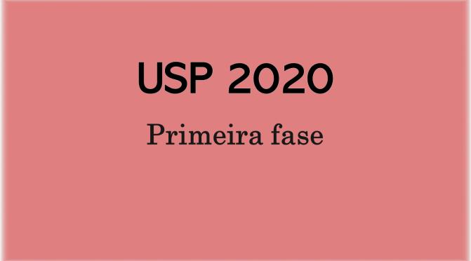 Questões de geografia da FUVEST 2020 (primeira fase)