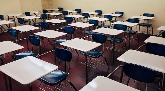 Situação escolar estadual na quarentena