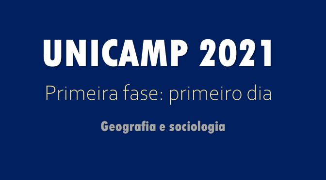 Unicamp 2021: primeira fase