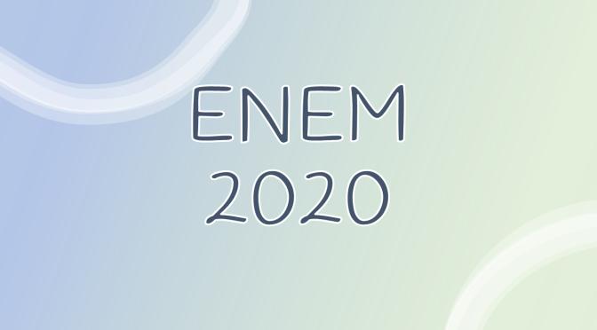 Questões de Geografia no enem 2020